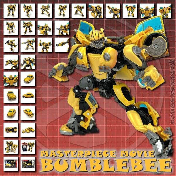 Masterpiece Movie Bumblebee