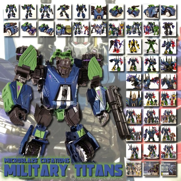 Microblaze MCB002 Military Titans