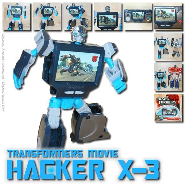 Movie Hacker X-3