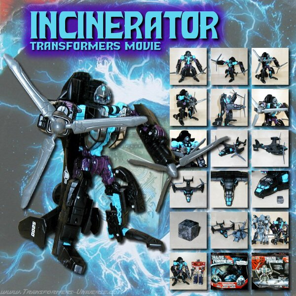 Movie Incinerator Black