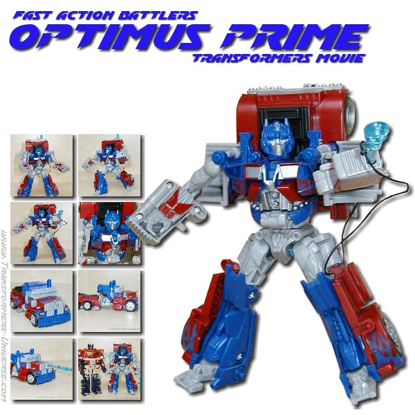 Movie Optimus Prime Fast Action Battlers