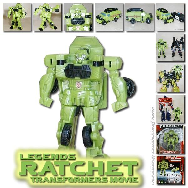 Movie Ratchet Legends