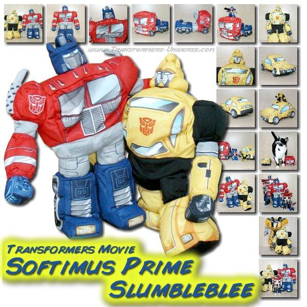 Movie Softimus Prime & Slumblebee