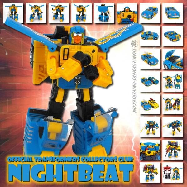 Official Transformers Collectors Club Nightbeat