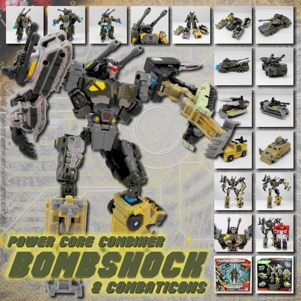 PCC Bombshock & Combaticons