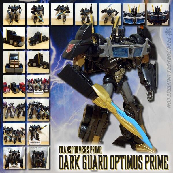 Prime Dark Guard Optimus Prime