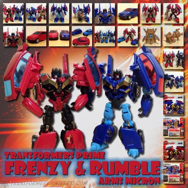 Prime Frenzy & Rumble Arms Micron