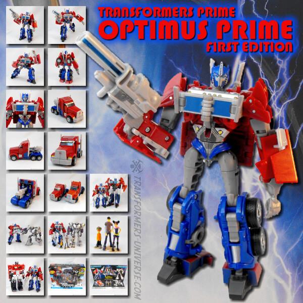 Prime Optimus Prime First Edition