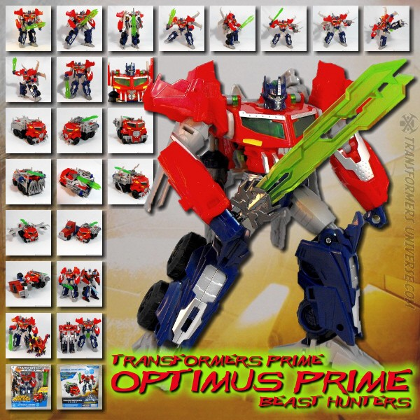 Prime Optimus Prime Beasthunters