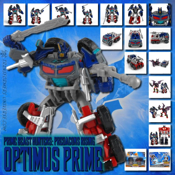 Prime Optimus Prime Predacons Rising