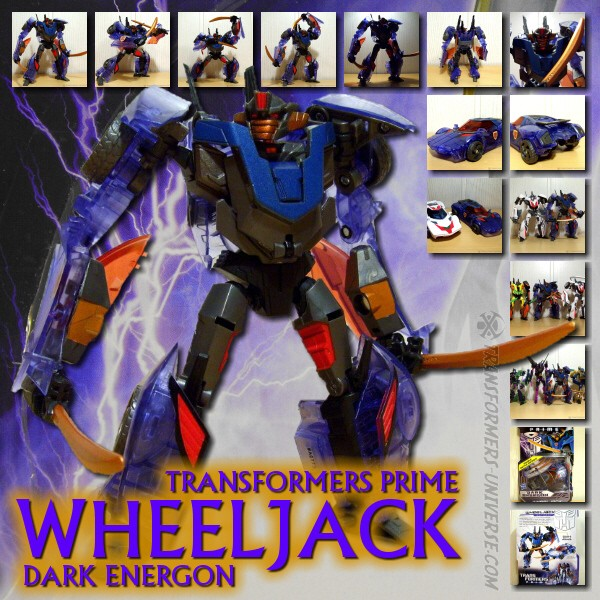 Prime Dark Energon Wheeljack
