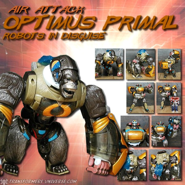 RID Air Attack Optimus Primal
