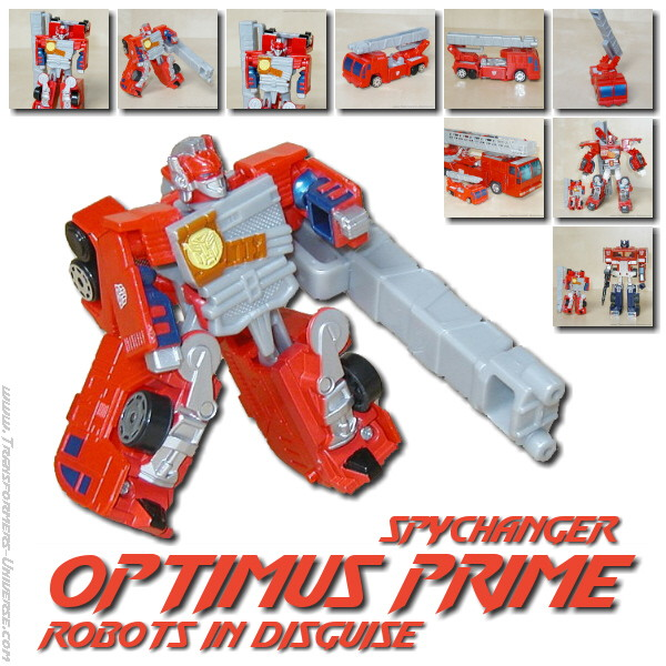 RID Optimus Prime Spychanger