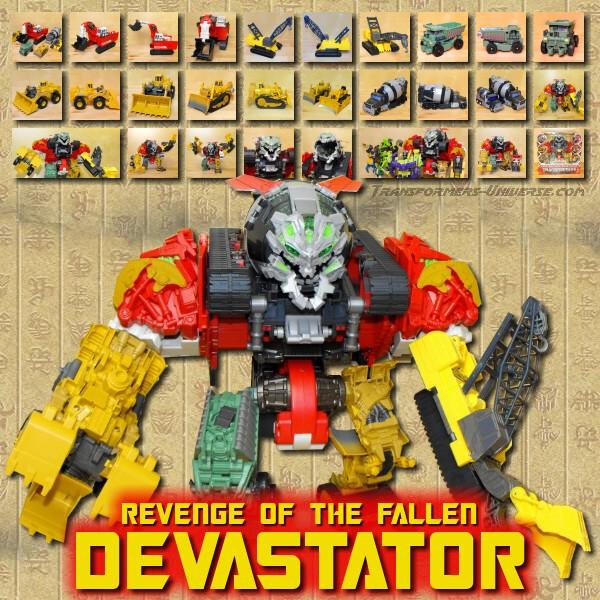 ROTF Devastator
