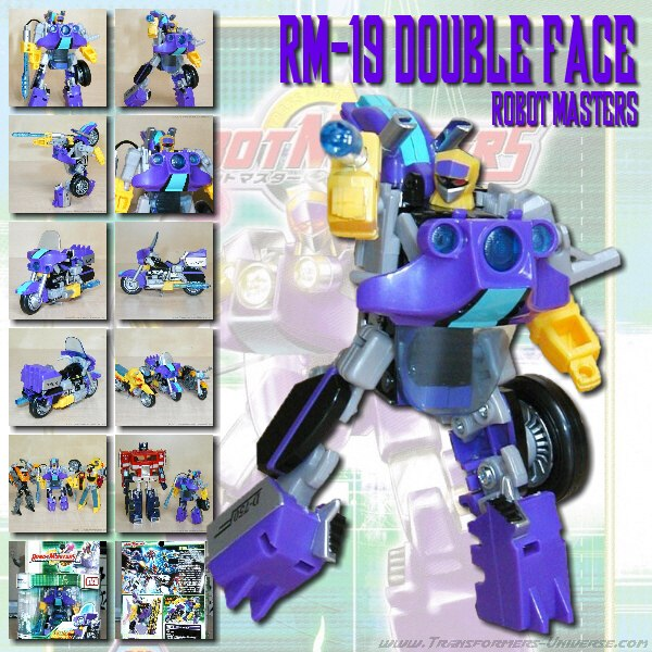 Robotmasters RM-19 Double Face