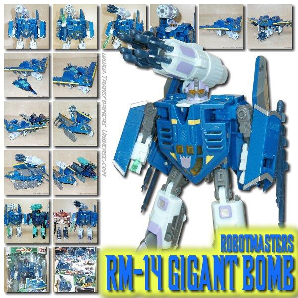 Robot Masters RM-14 Gigant Bomb