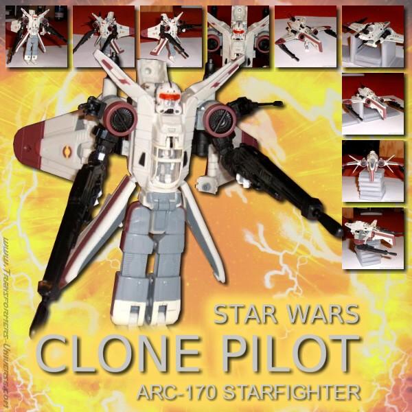 Star Wars Clone Pilot ARC-170