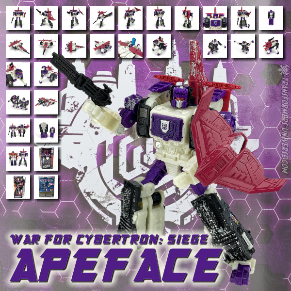 Siege Apeface & Spasma