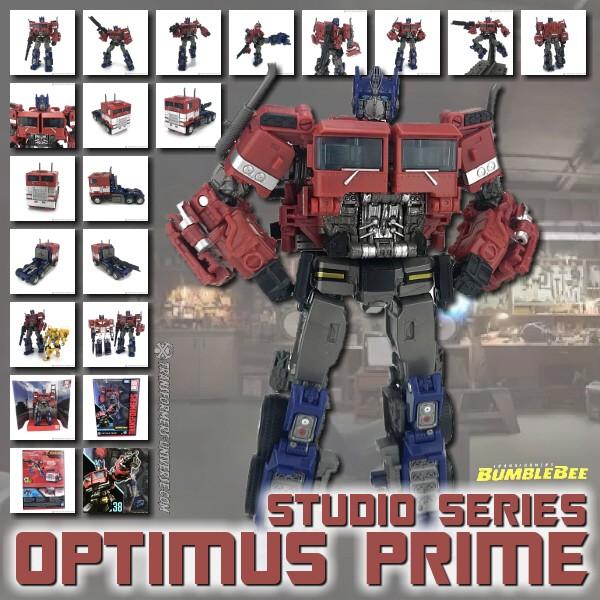 Studio Series Optimus Prime (Bee Movie)