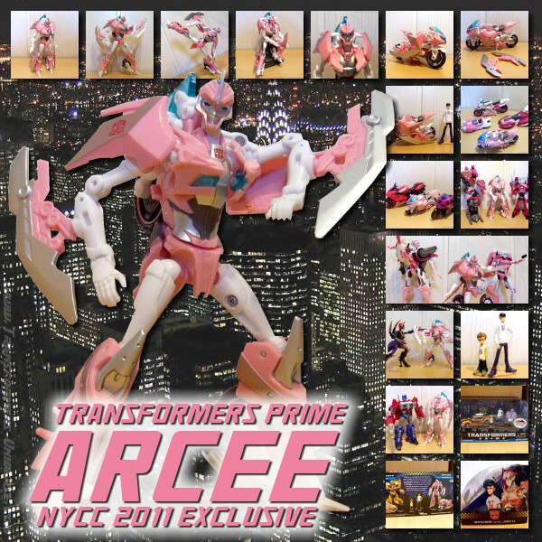 Prime Arcee NYCC Exclusive