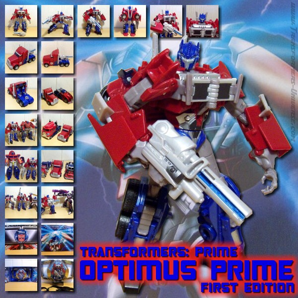 Prime Optimus Prime 1st Edition