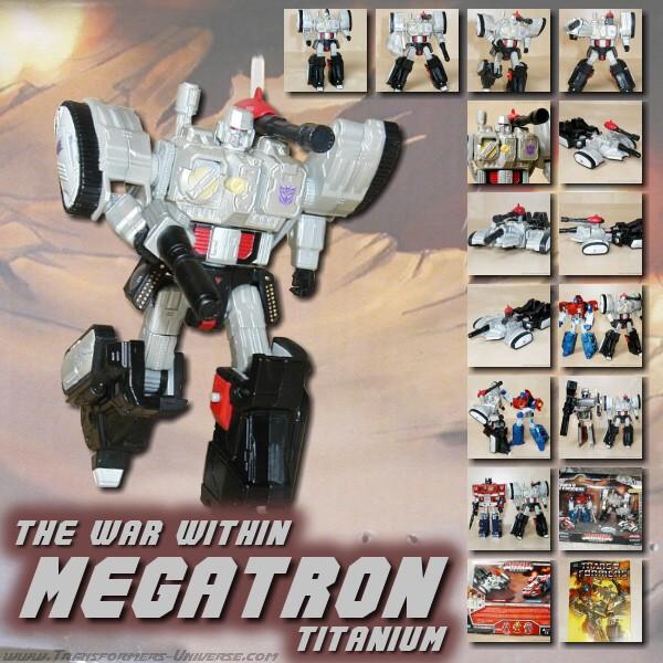 Titanium Megatron War Within