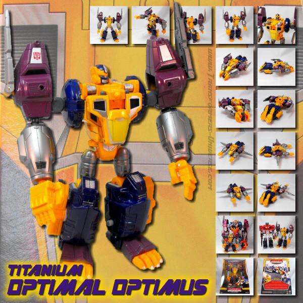 Titanium Optimal Optimus