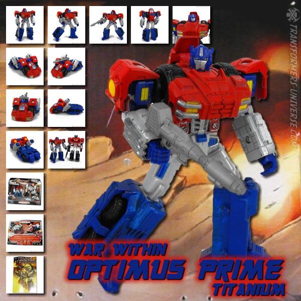 Titanium Optimus Prime War Within