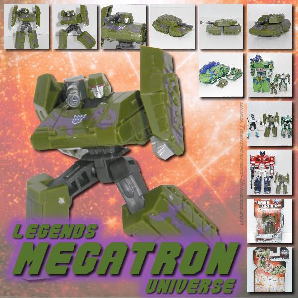 Universe Megatron Legends