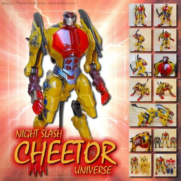 Universe Night Slash Cheetor