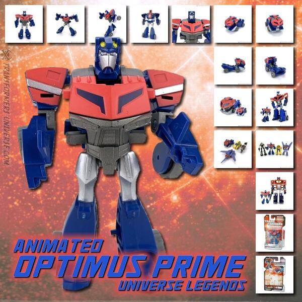 Universe Animated Optimus Prime Legends