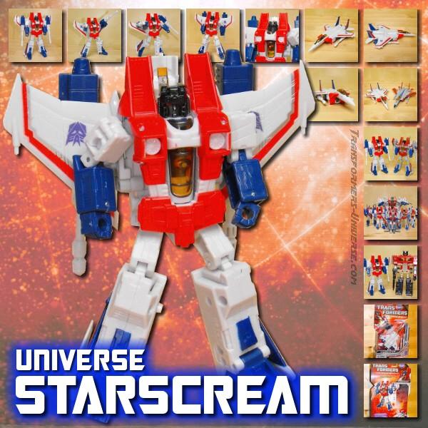 Universe Starscream