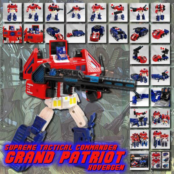XOvergen Grand Patriot Red Edition