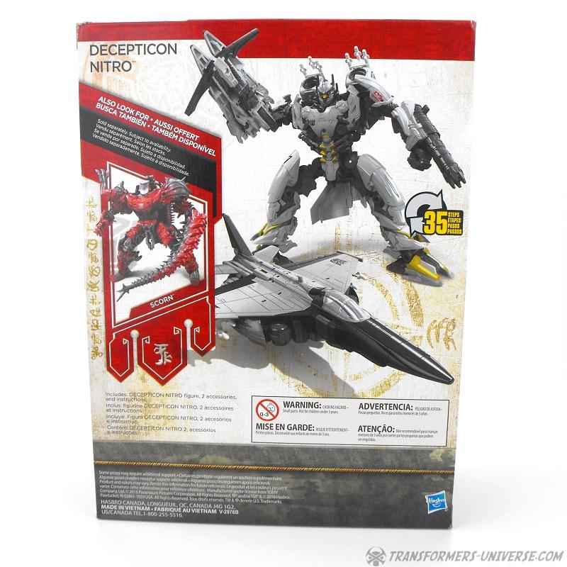 Transformers Universe Last Knight Nitro 21 22